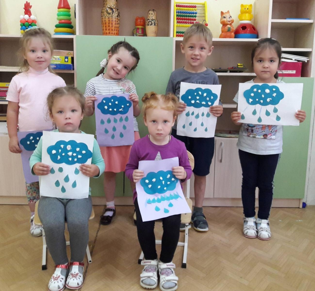 Изобразительная деятельность детей в летний период