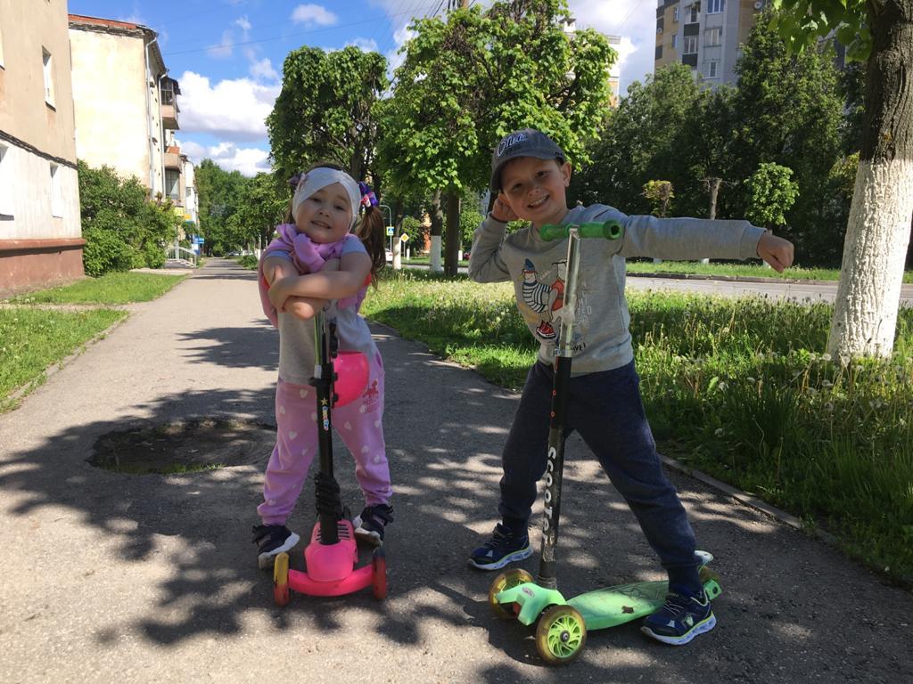 Воспитанники ДОУ поддержали Всемирный День без автомобиля